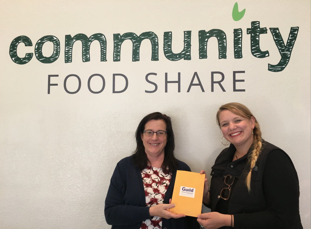 Brian Manning Donates $1350 To Community Foodshare